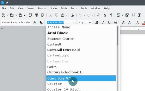 OpenSUSE installing Microsoft fonts