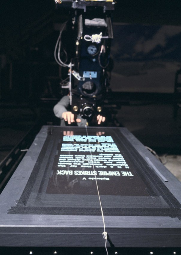 Filming The Empire Strikes Back Credits Roll