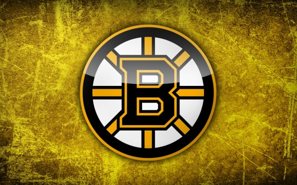 Boston-Bruins-Yellow-Background