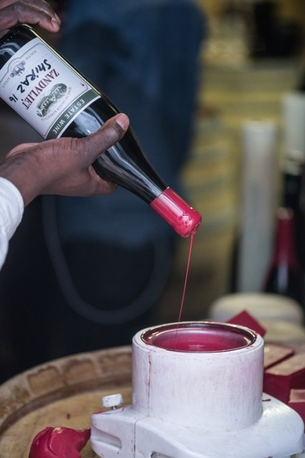 Blend your own wine creation