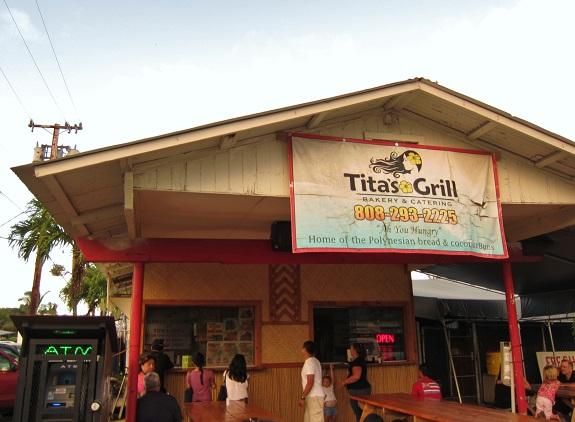 Tita's Grill Kahuku North Shore Oahu Hawaii