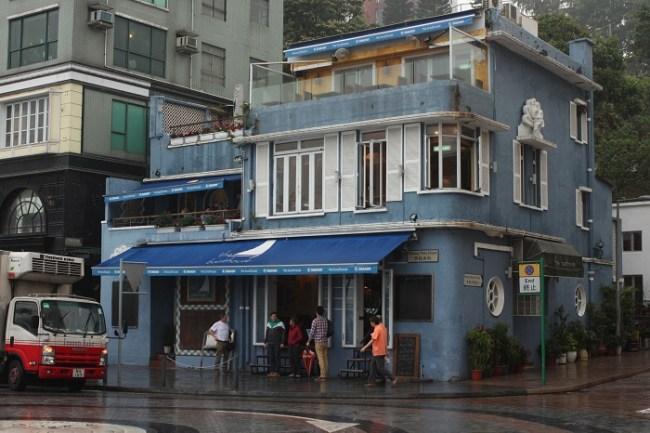 Restaurant at Stanley Bay Hong Kong
