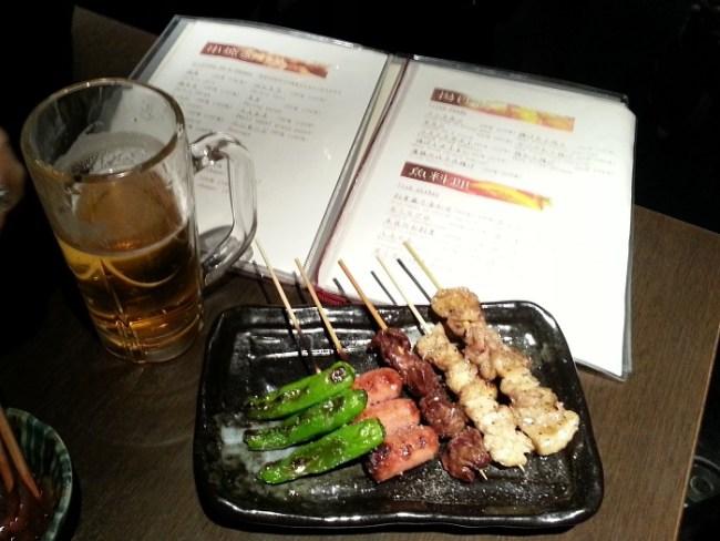 Izakaya Food in Shibuya