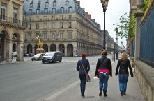 On the Street Near the Louvre