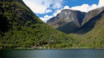 Fjordside village