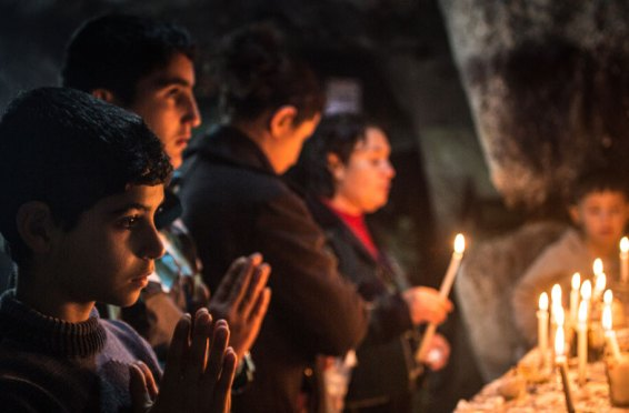 Refugiați creștini în Erbil
