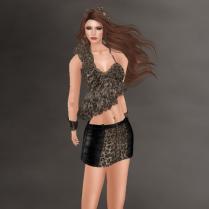 Kayla in Leopard