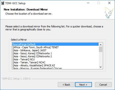 tdm-gcc-download-mirror-select