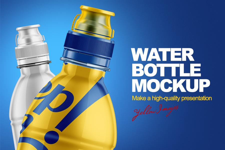 Water Bottle Free PSD Mockup Averta Blog