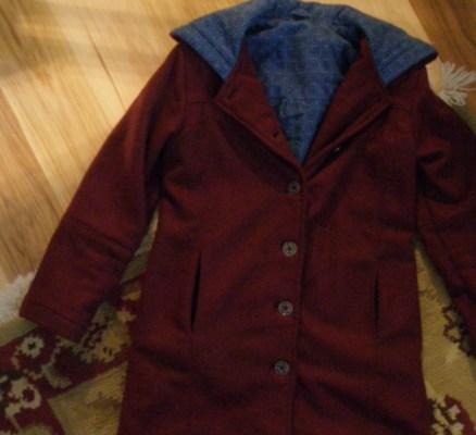 The Burgundy Coat, finished