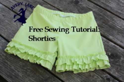 Shorties: a DIY project tutorial