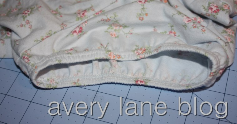 Sewing T-shirts Tutorial: puffy sleeves with elastic