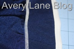 How to Serge elastic onto waist or part of garment