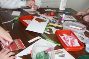Avery Lane Blog craft tutorial paper strip card
