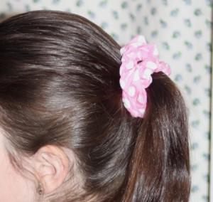 hair scrunchie sewing tutorial avery lane blog