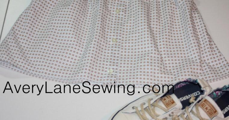 A Button Down Skirt Tutorial