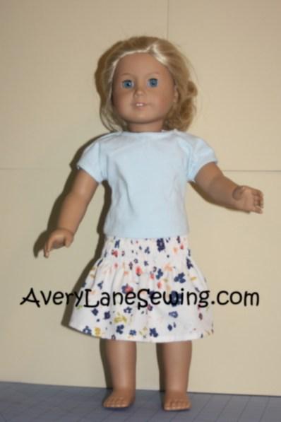 Avery Lane Sewing Blog Doll Elastic Smocked Skirt Tutorial5