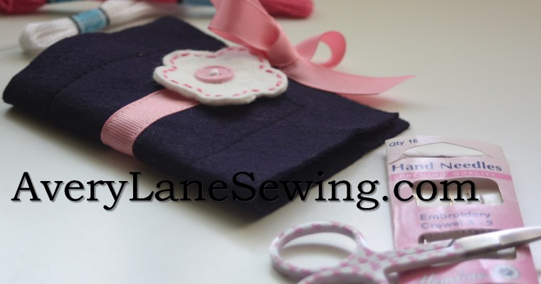 Sew in Style Blog Tour – Needle Book Tutorial and Giveaways