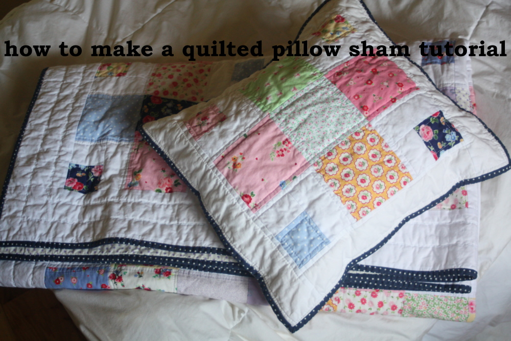 A Quilted Sham Tutorial  Avery Lane Sewing