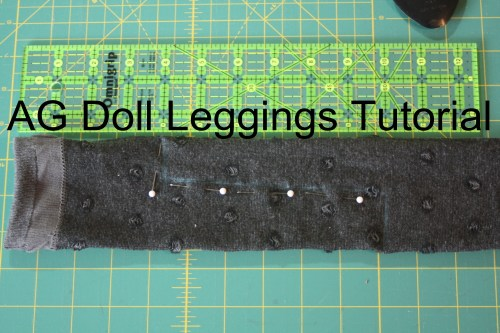 AG Doll Leggings Tutorial