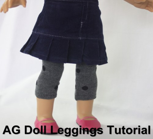 AG Doll Leggings Tutorial14