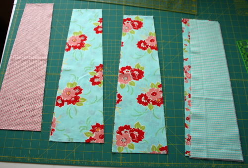 11a Fat Quarter Bundle Skirt Country Skirt Sewing  Tutorial 026