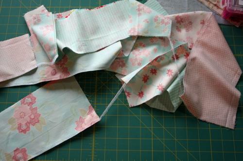 12 Fat Quarter Bundle Skirt Country Skirt Sewing  Tutorial 032