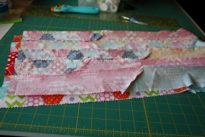 Doll Quilt Tutorial Jelly Roll Race 18