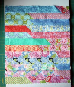 Jelly Roll Race Doll Quilt Tutorial