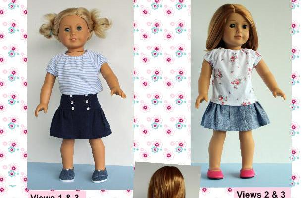 New Sewing Pattern for 18 inch Dolls