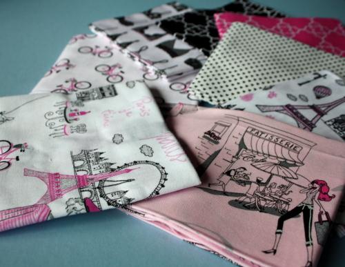 paris fabric Timeless Treasures Bonjour Fabric collection