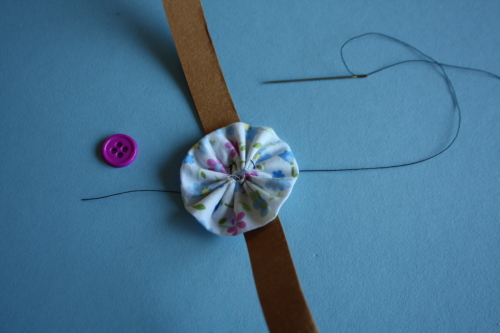 Kraft Tex headband tutorial for dolls 10 www.AveryLaneSewing