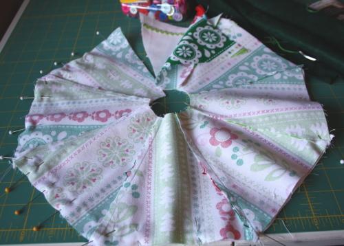 Too Cute Doll Sewing Magazine mini tree skirt tutorial blog sew along 1