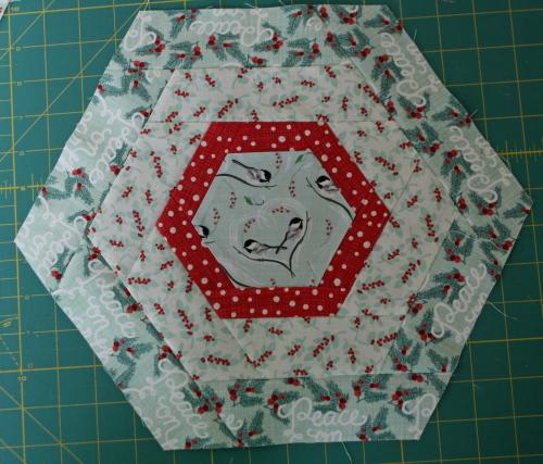 Hexagon Log Cabin Tutorial Avery Lane Sewing