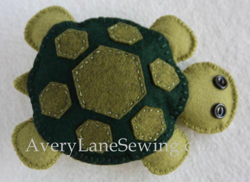 Felt Turtle Pattern