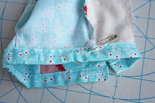 1 Doll Days Modern Camp Shorts Sew Along AveryLaneSewing.com elastic 3