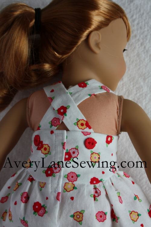 1 Doll Days Modern Jumper Sew Along 14 American Girl Dolls clothes dress Sewing pattern