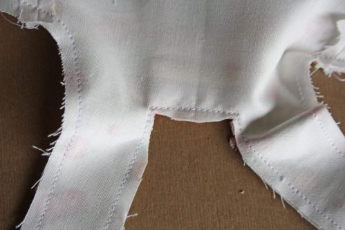 Doll Days Modern Jumper pattern sew along 11