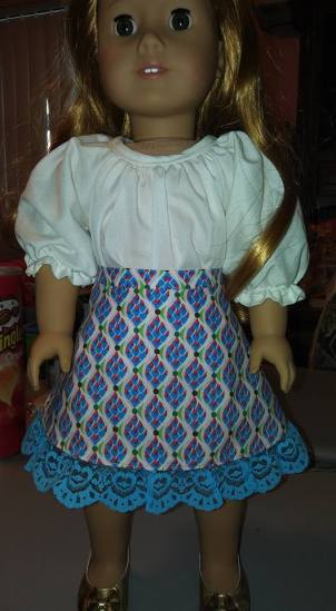 16 Doll Days Skirt Challenge