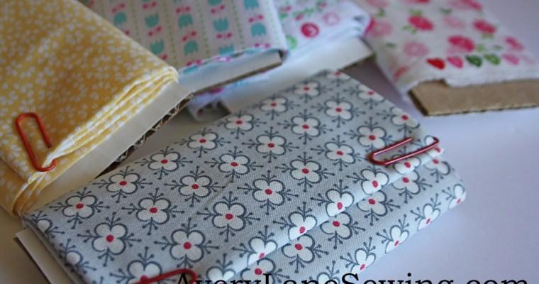 Mini Fabric Bolts for American Girl Dolls
