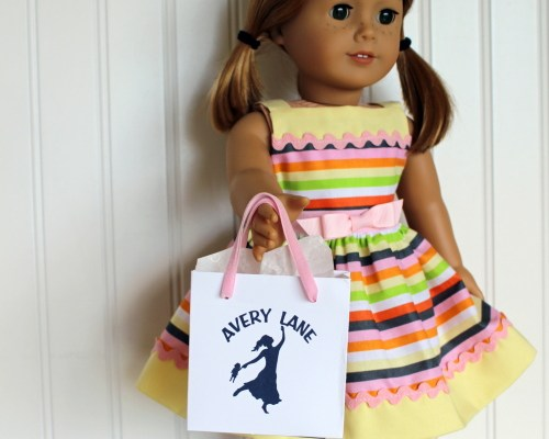 Free Craft: AG Doll Shopping Tote Bag