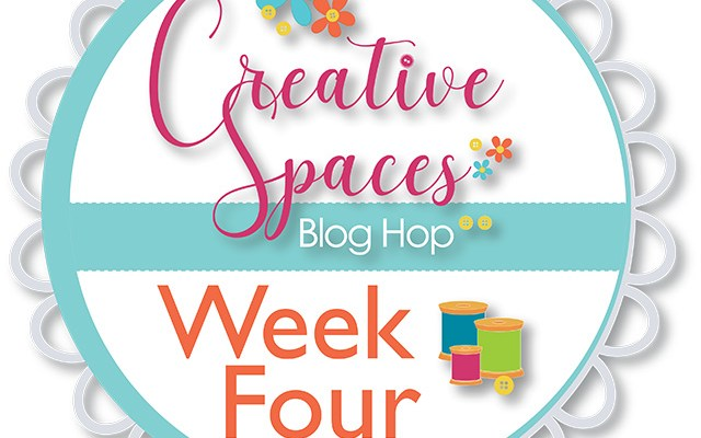 Creative Spaces Blog Hop – Week Four – Dealing with Scraps
