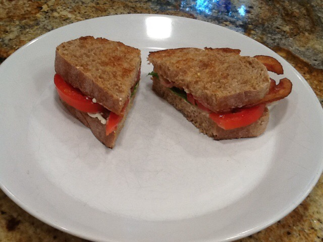 My first time every BLT