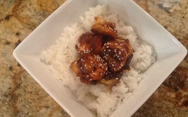 Faux Hoisin Sauce and Shrimp – Excellent