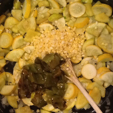 Calabacitas – OR – What do do with all that summer squash