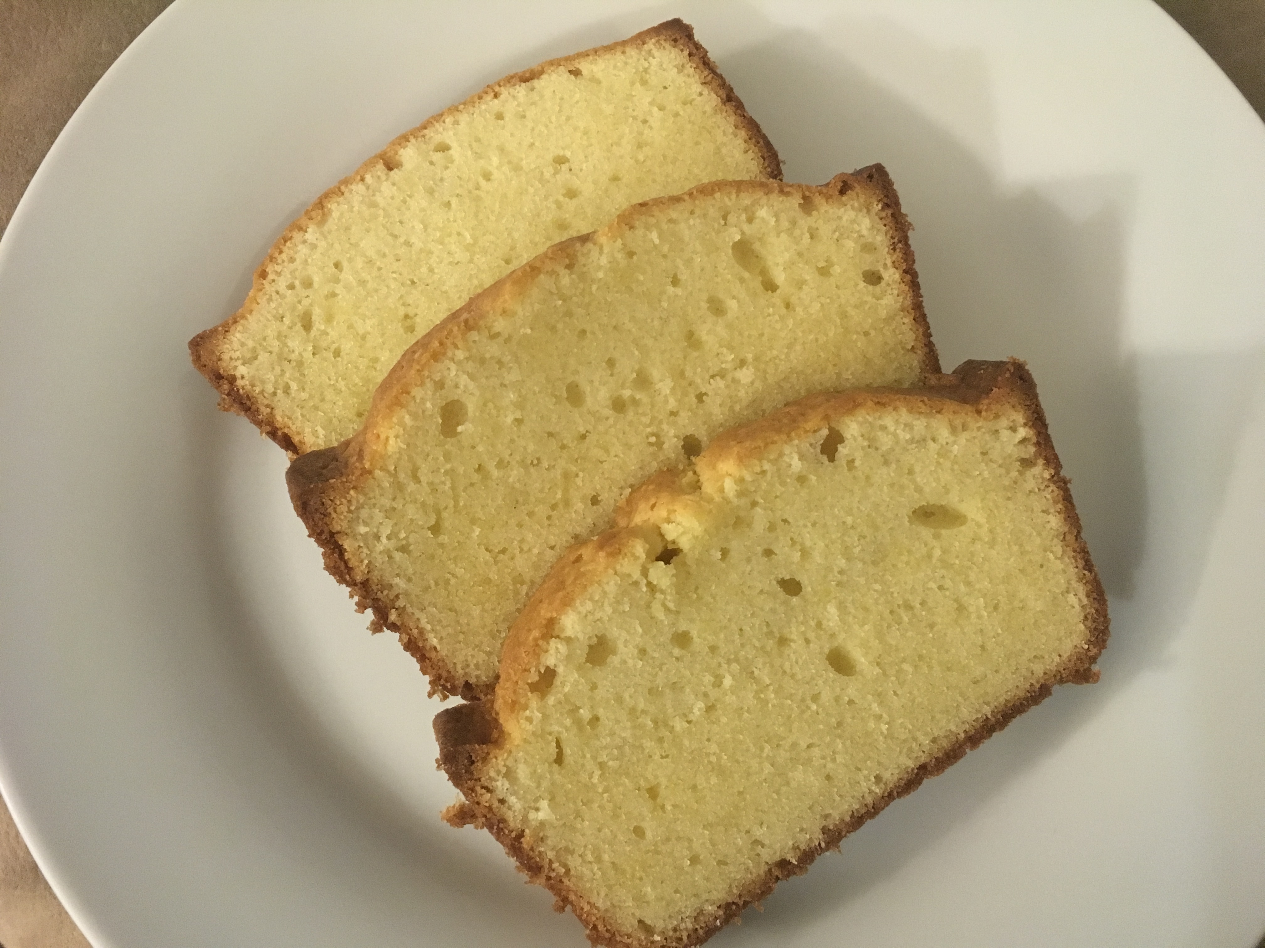 Quest for a Perfect Pound Cake – This wasn't it