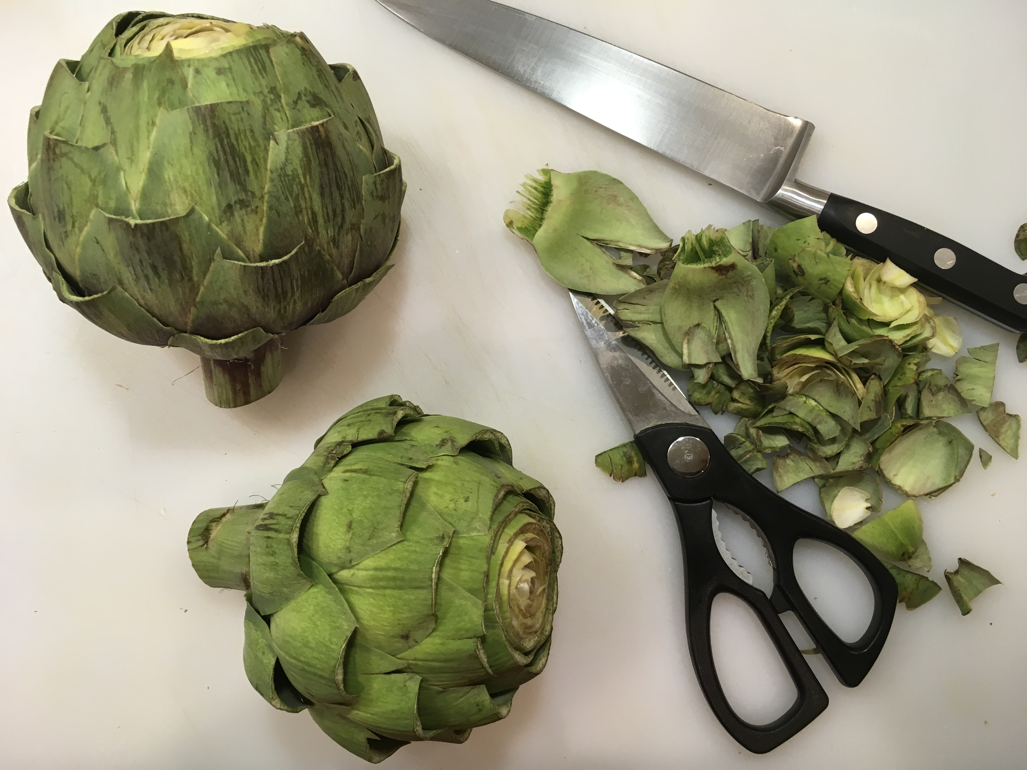 Gimme Some Oven Roasted Artichokes