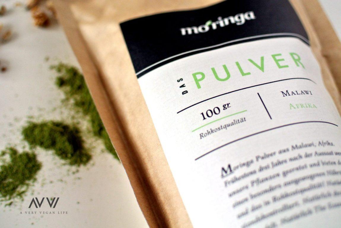 Moringa-Pulver-Rohkost-Vegan