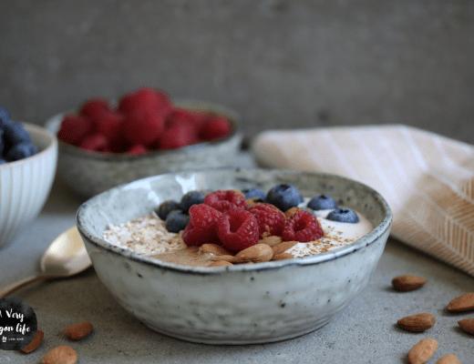 Anleitung für veganes Frühstück