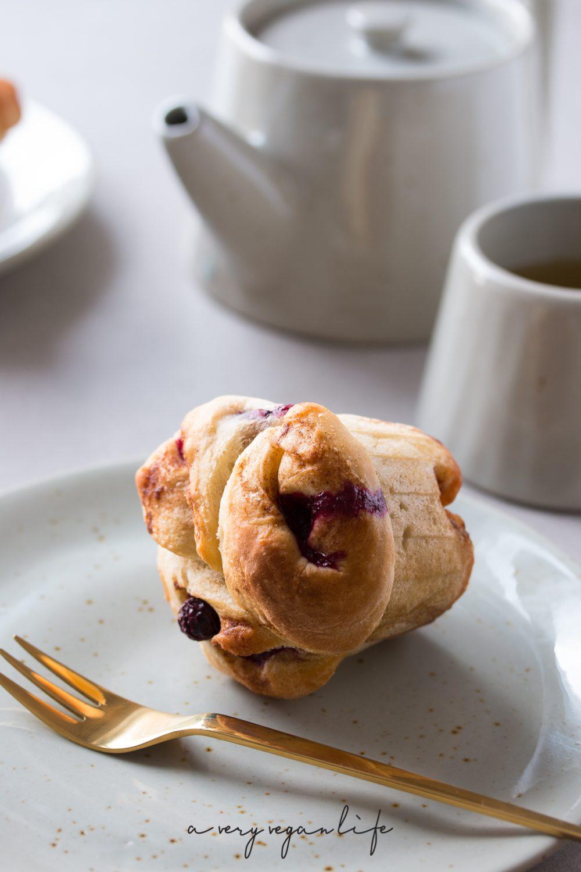 Pulled Apart Muffin mit Blaubeeren